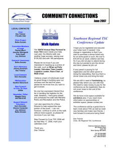Mini Conference Scheduled for May 21, 2005