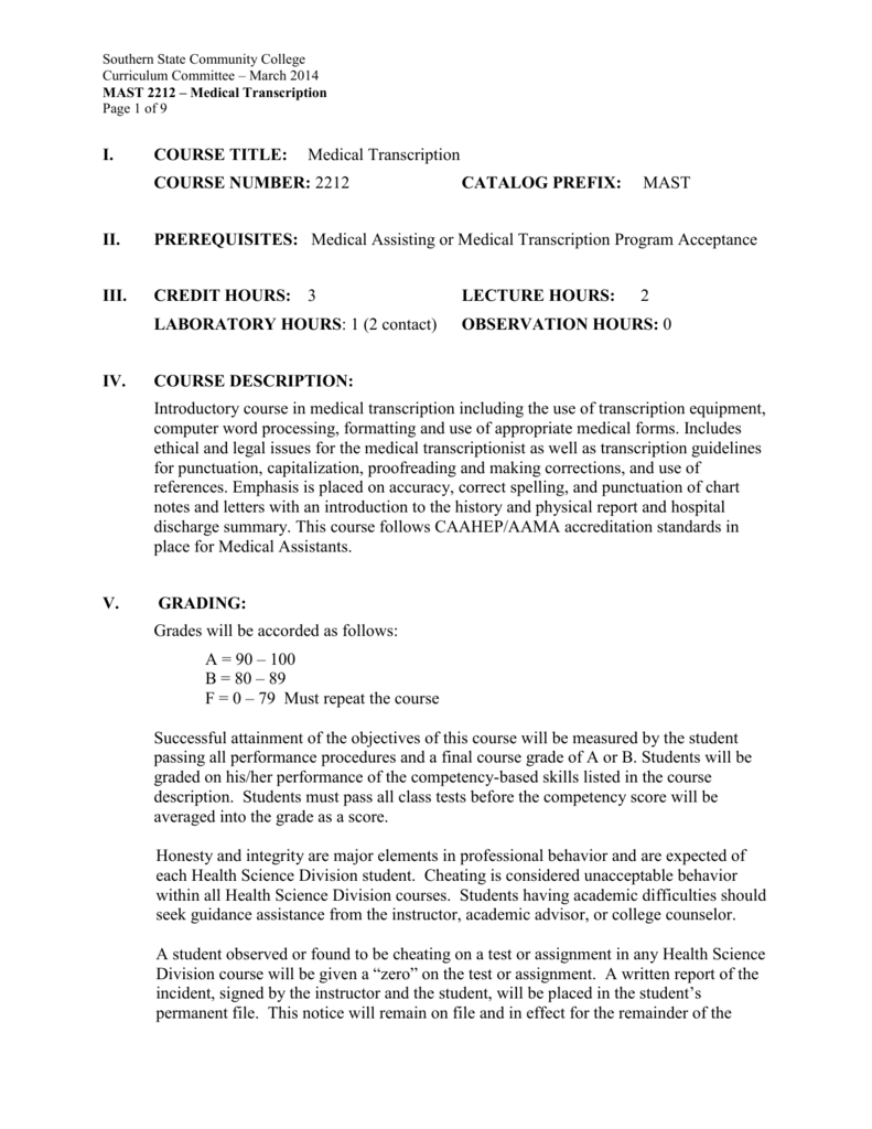 Medical Transcriptionist Cover Letter 3 Free Risk Assessment Template