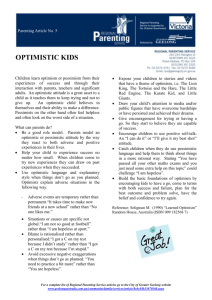 05 Optimistic Kids - City of Greater Geelong
