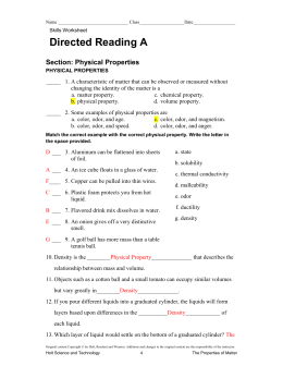 skills worksheet directed reading a answers the large and most comprehensive worksheets. Black Bedroom Furniture Sets. Home Design Ideas