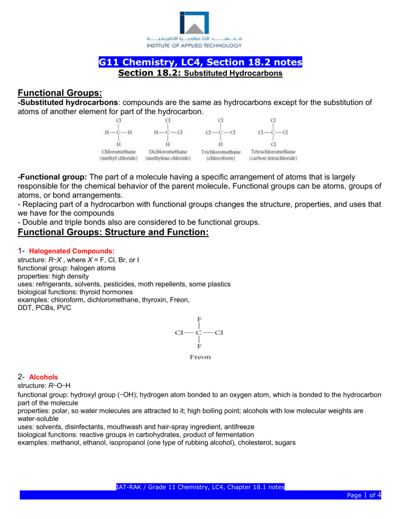 Grade 12 Chemistry Notes