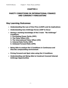 problems of international financial management