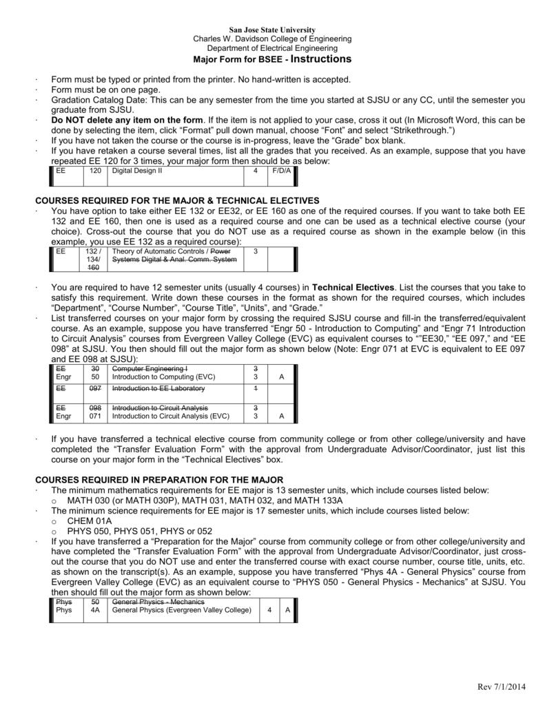 wrg 4423 electrical engineering 4 year plan sjsu rh ldancymru org uk