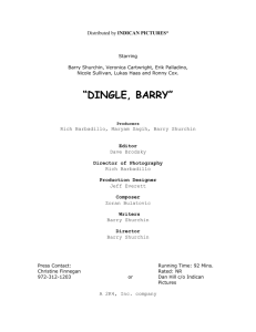 dingle, barry - Indican Pictures
