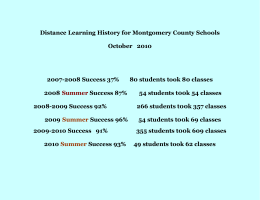 Enclosure - Montgomery County Schools