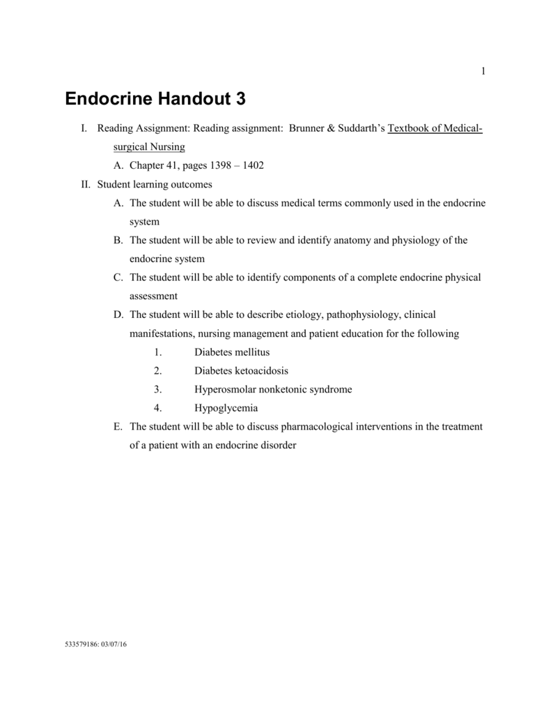 Handout 3
