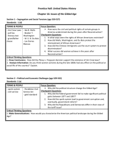 Prentice Hall: United States History Chapter 16: Issues of the Gilded