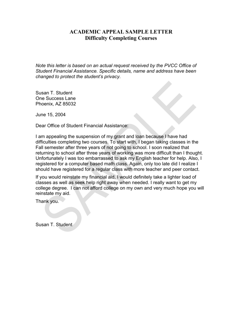 Writing An Appeal Letter For Financial Aid Examples from s3.studylib.net