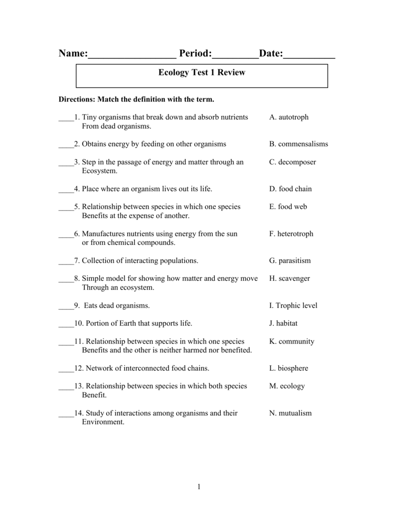 Worksheet Types Of Symbiosis Worksheet Worksheet Fun