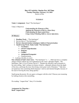 Example Thesis Statement Essay Day  Activity Stories For All Time Thesis Statement Argumentative Essay also Compare And Contrast Essay High School Vs College Chidozie Duru Essay Compare And Contrast The Interlopers And Examples Of Thesis Statements For Expository Essays