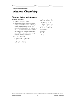nuclear chem webquest Clayton high school staff chemistry of biology - summer academy matter,  research  mystery solutions webquest states of matterpdf.