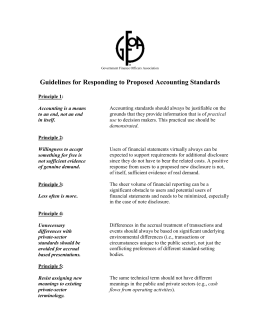 Guidelines - Government Finance Officers Association