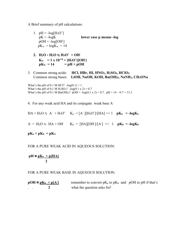 worksheet. Worksheet Ph Calculations. Grass Fedjp Worksheet Study Site