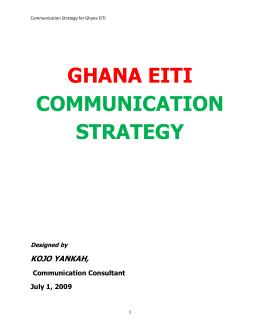 ghana eiti communication strategy