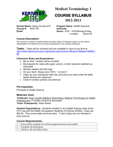 course syllabus - Casey County School District
