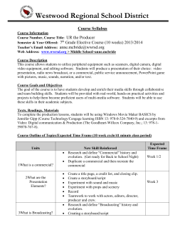 Sample Course Syllabus Template