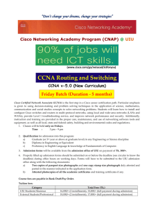 CBT Micro-Nuggets – Cisco CCENT/CCNA