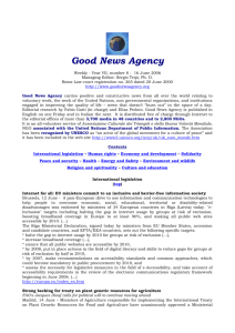 Good News Agency