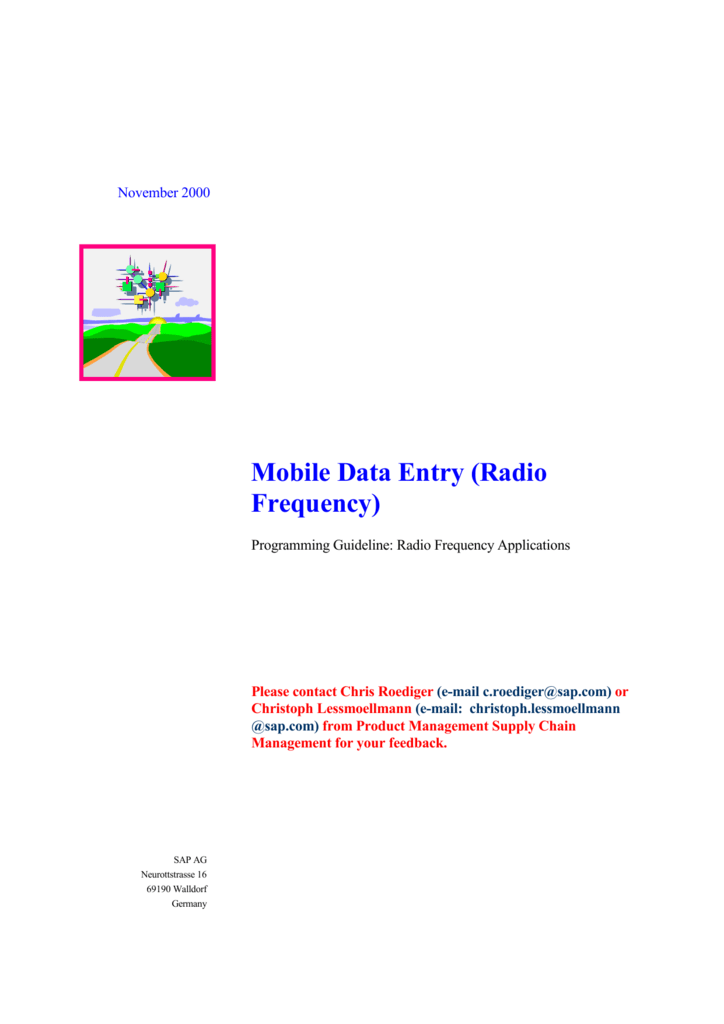 RF Programming Guide