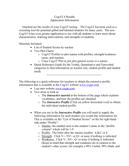 Basic abilities test study guide