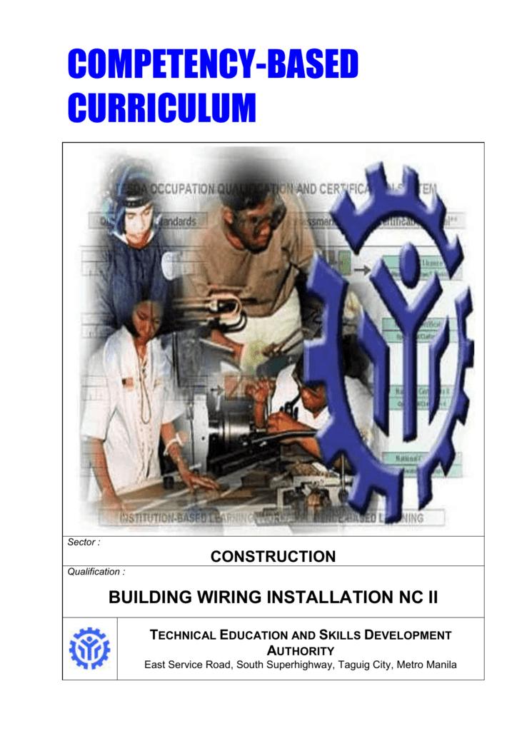 Super Building Wiring Installation Nc Ii Wiring 101 Eattedownsetwise Assnl