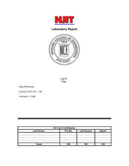 NJIT Lab Report Template