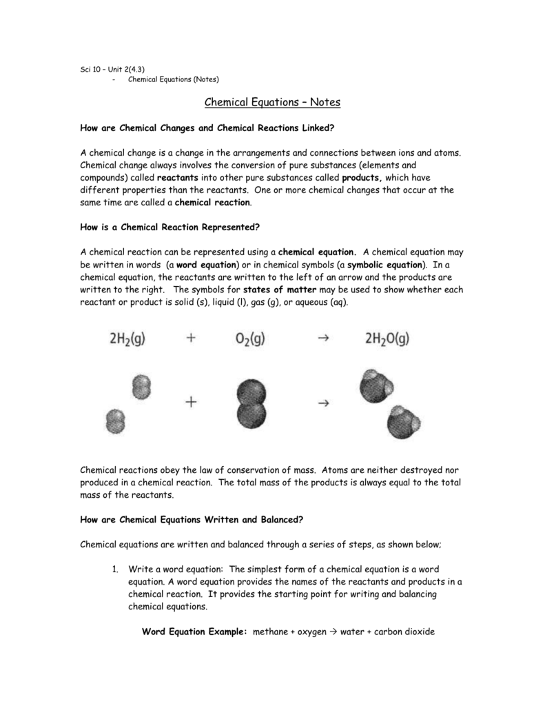Chemical equations biocorpaavc Choice Image