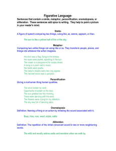 Figurative Language handout