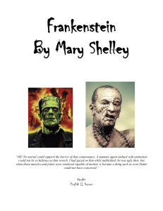 Frankenstein - English