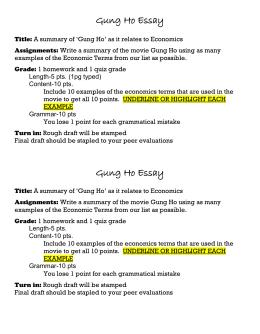 gung ho story summary