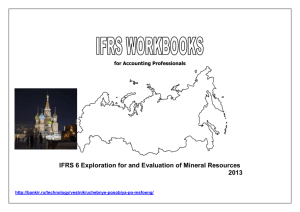 IFRS 6-Exploration For and Evaluation of