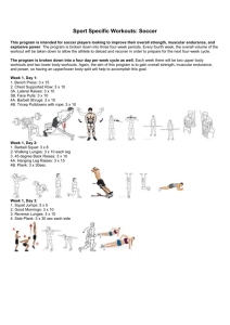 12 Week Conditioning Program
