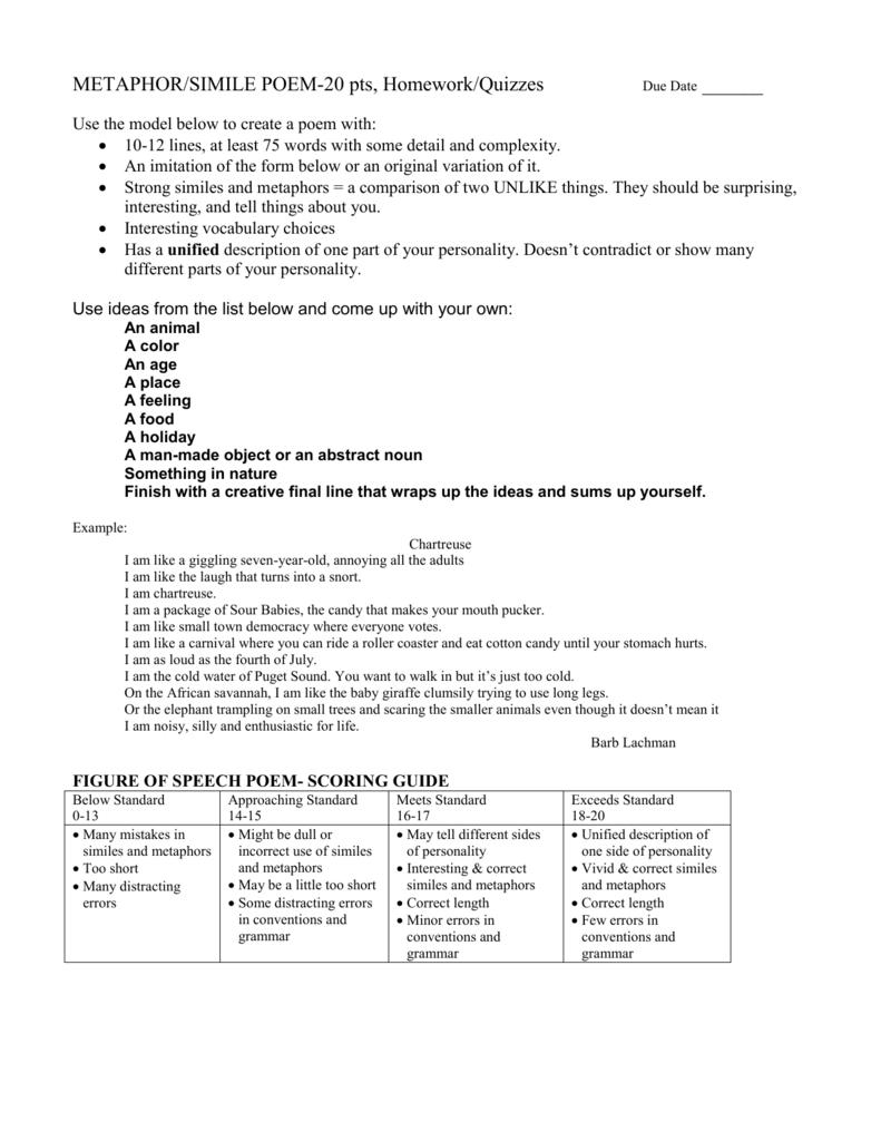 Cute Animal Poem Template Ideas - Example Resume and Template Ideas ...