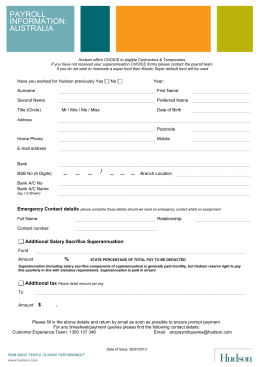 Payroll Information Form