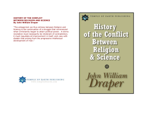 historyoftheconflictbetween religion and science