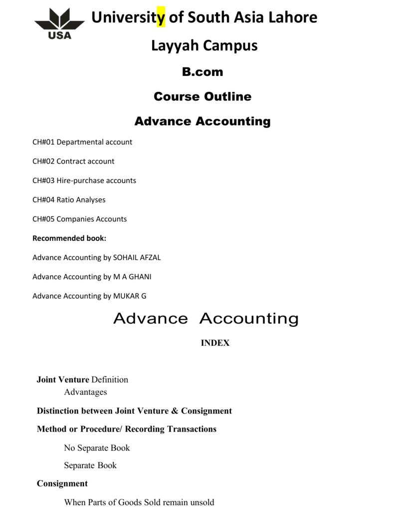 Pdf financial account