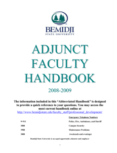 faculty - Bemidji State University