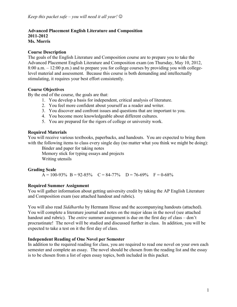 Business Argumentative Essay Topics  Essay Writing Thesis Statement also Synthesis Essay Advanced Placement English Literature And Composition High School Personal Statement Sample Essays