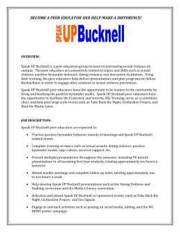 Speak UP Bucknell