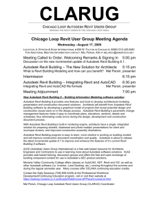Greater Chicago AutoCAD User's Group