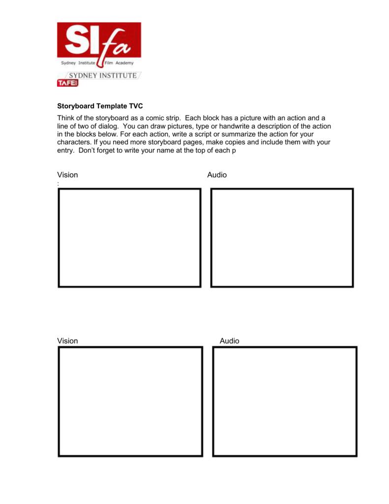 microsoft word - storyboard template