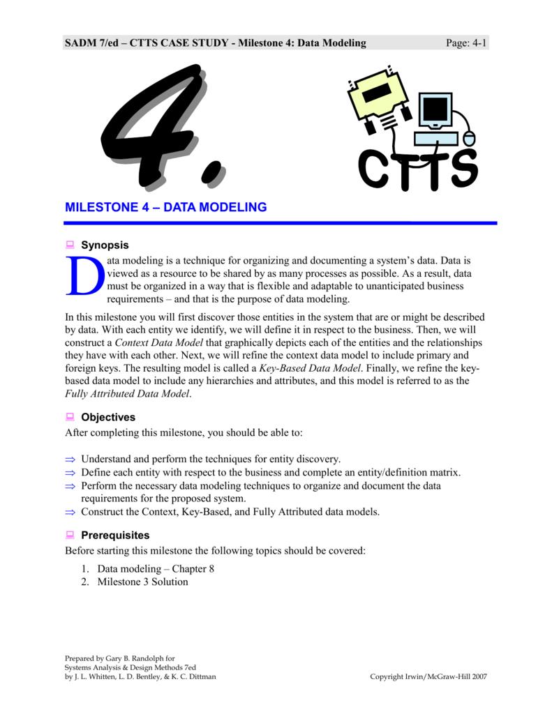 esss case study milestone 3 solutions