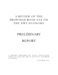 The impact of the road tax based on the gnwt numbers