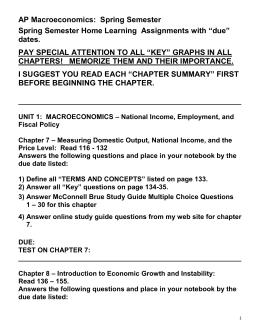 syllabus mr carlisle s ap economics home rh studylib net economic systems notebook guide answers Anthem Study Guide Answers