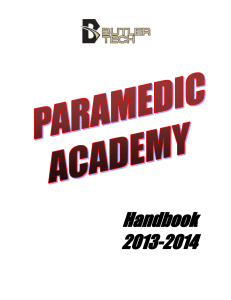 Paramedic Clinical Rotations