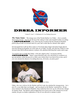 DRSEA INFORMER Volume IV, Issue 7: A Publication For Your
