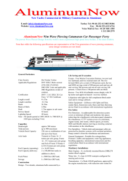New Yacht, Commercial & Military Construction in Aluminum E.mail