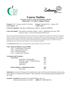 Course Outline - Ms. Nguyen's Course Website