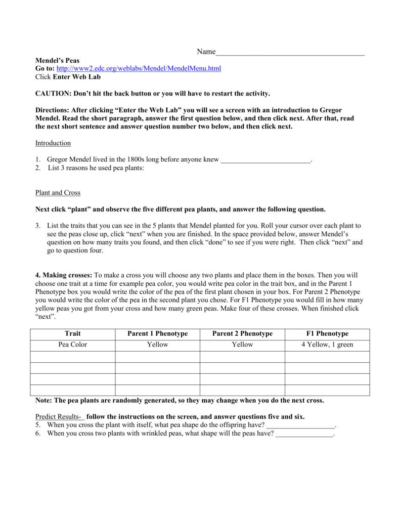 worksheet  gregor mendel worksheet  grass fedjp worksheet