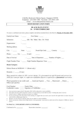 Confirmation number room reservation form hotel reservation form altavistaventures Image collections